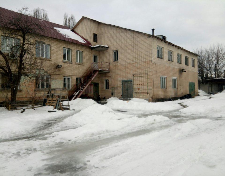 Изготовлен технический паспорт на нежилое здание в г.Киеве, Соломенский р-н.